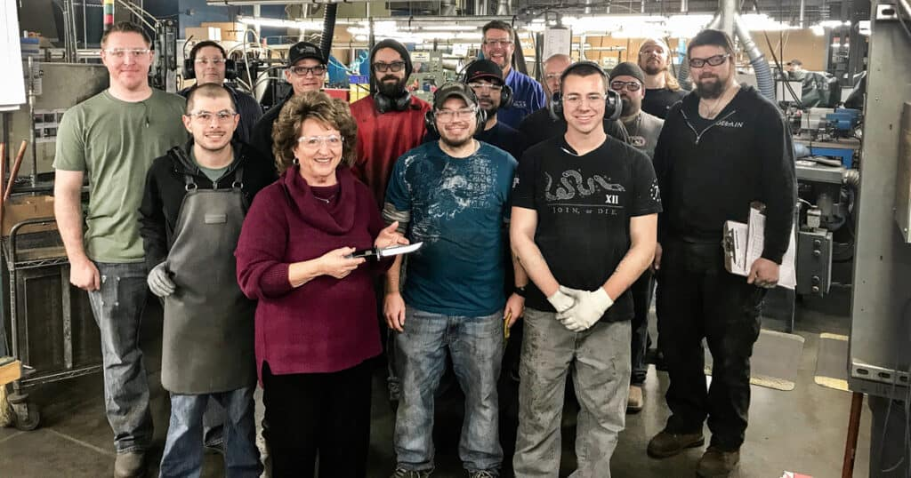 Buck Knives Reaches Production Milestone