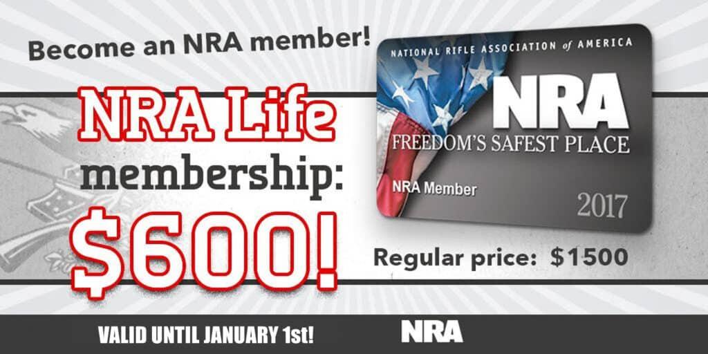 NRA Life Membership Discount