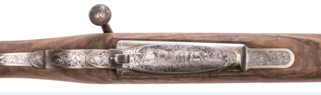 World Heritage Gun - Engraving