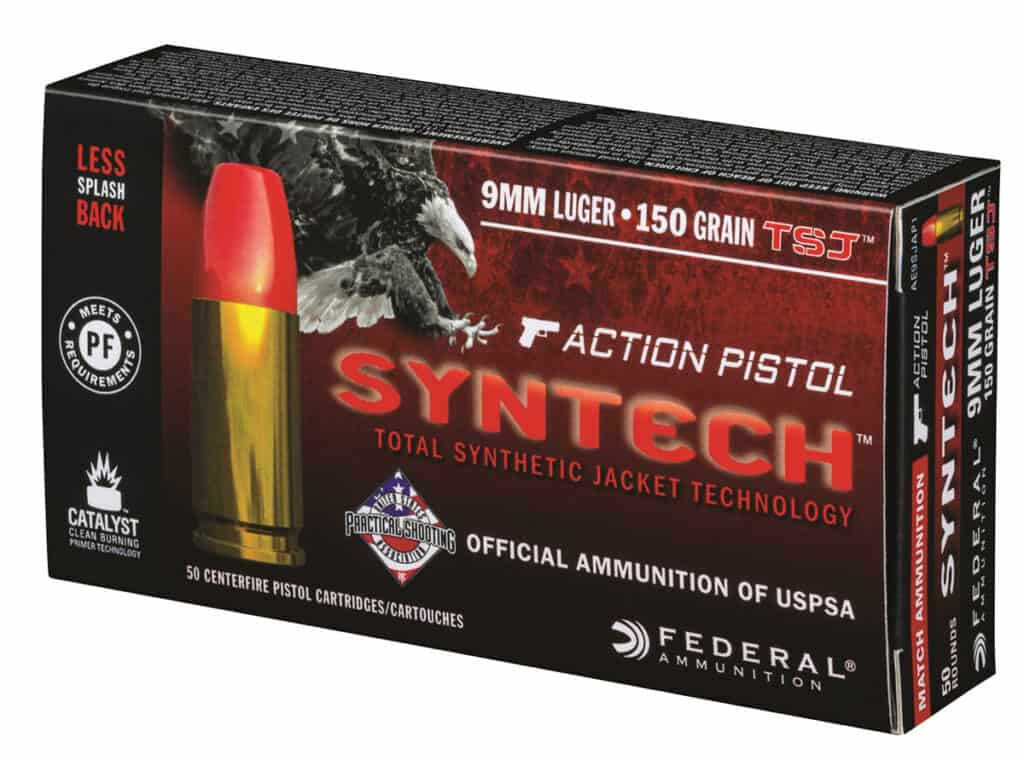 Federal Syntech Action Pistol Ammunition
