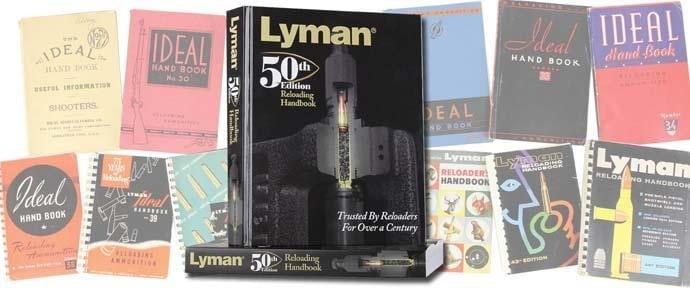 Lyman Products Reloading Handbooks
