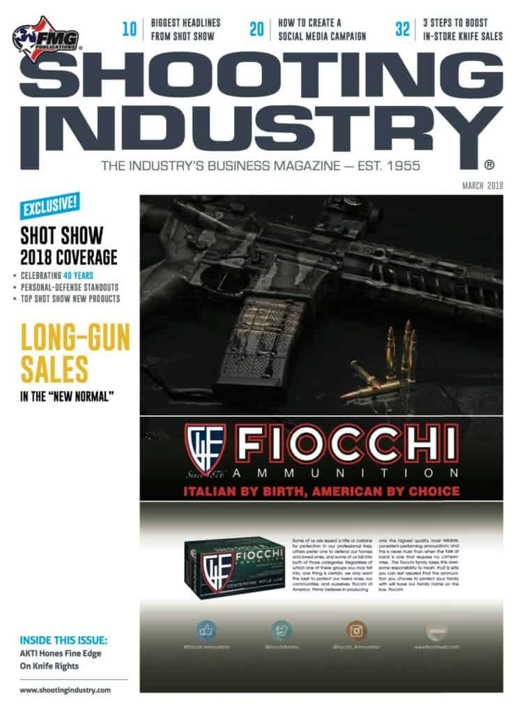SHOT Show 2018 Featured in Shooting Industry March