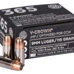 SIG 365 V-Crown Ammunition - 115gr 9mm