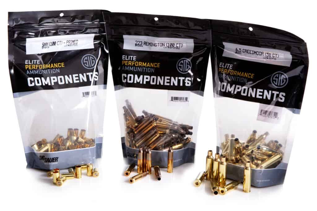 Sig Sauer Pistol & Rifle Components for Precision Handloaders