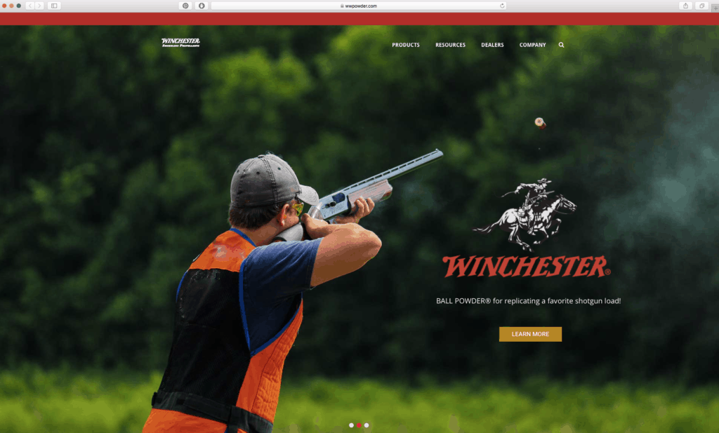New Winchester Website