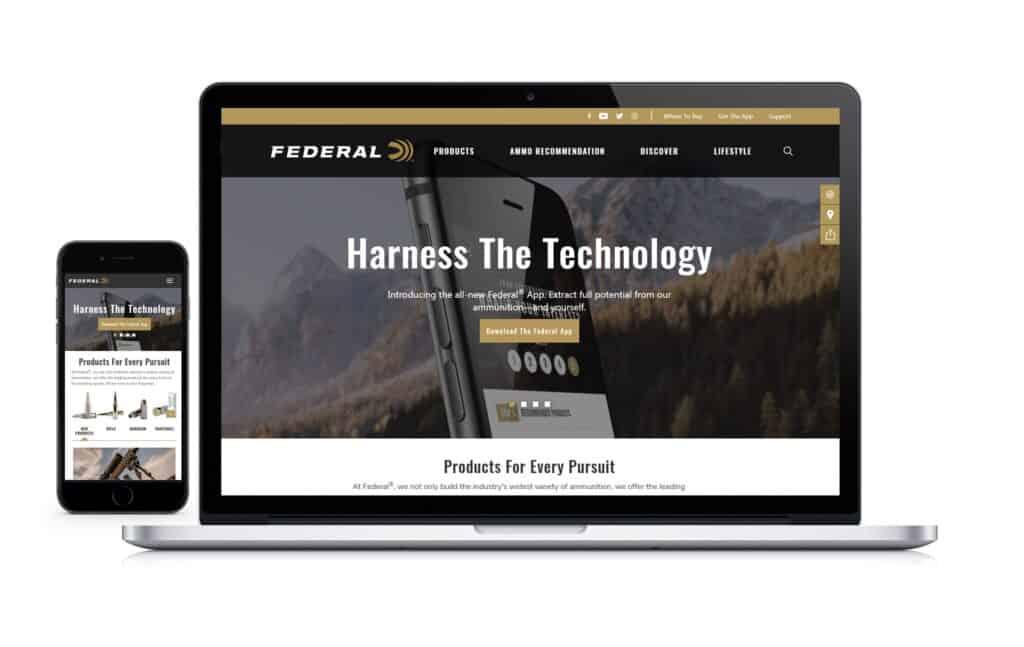 Federal Premium Website