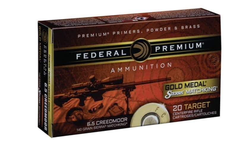 Federal Premium Gold Medal Creedmoor