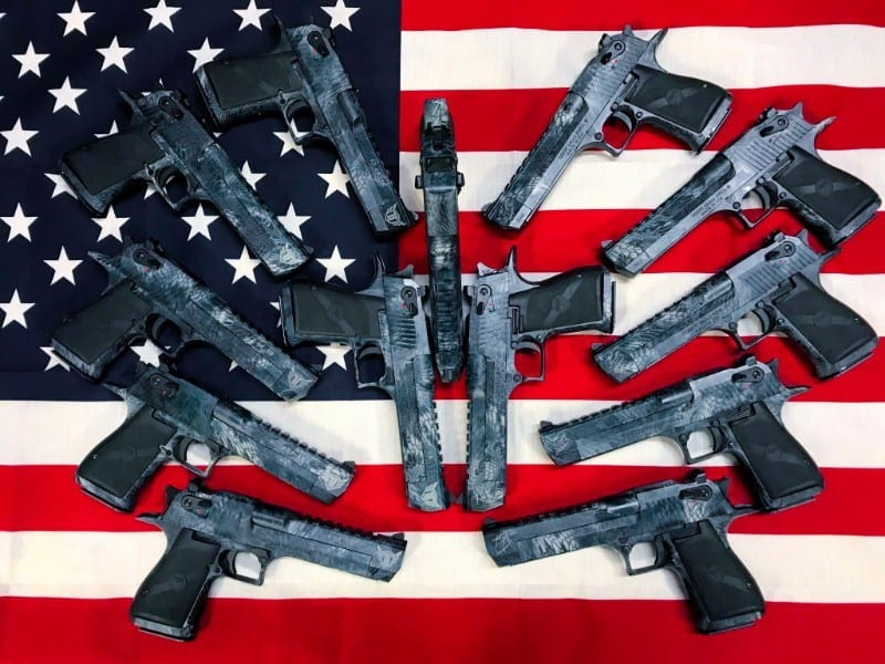 Kahr Firearms Rasing Money for Veterans