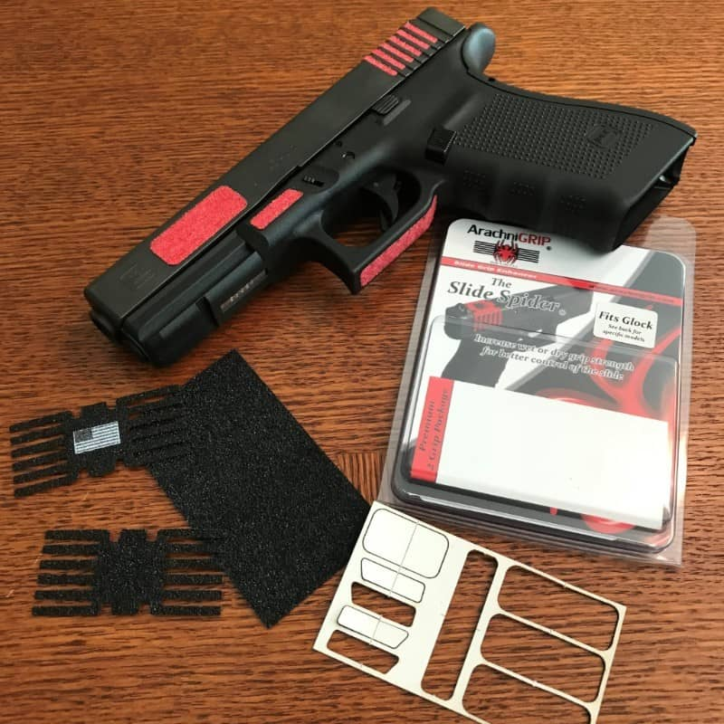 ArachniGRIP Gunfighter Series Adhesive Grip Sets