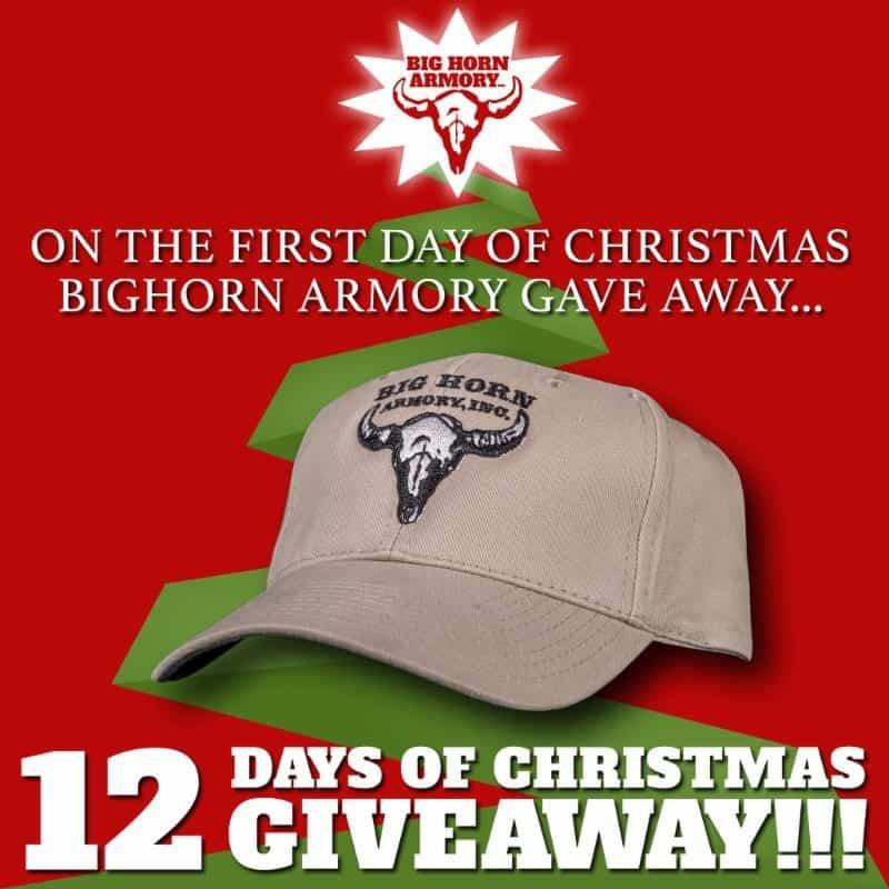 Big Horn Armory Christmas Giveaway