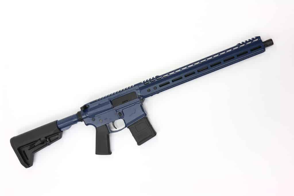 LV Seven 300 Blackout Nightingale Rifle - Indigo