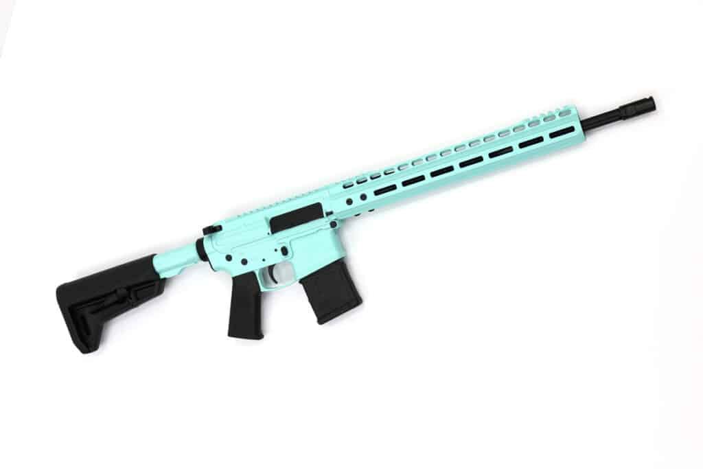 LV Seven 556 Hummingbird Rifle - Caribbean