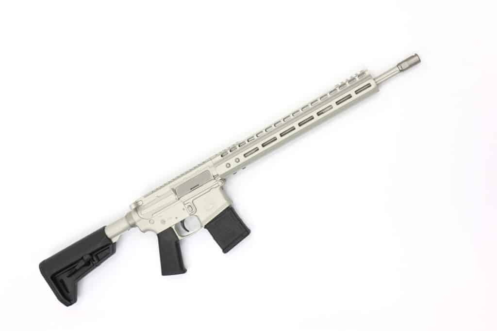 LV Seven 556 Swan Rifle - Frost