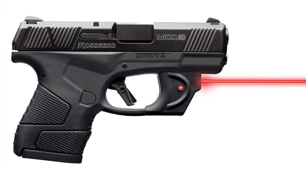Mossberg MC1sc with Viridian E Series Red Laser Sight