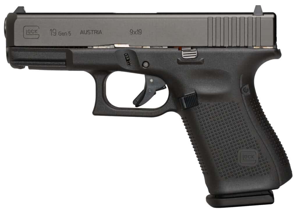 Glock 19 Gen5 Semi-Automatic Pistol