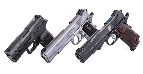 Sig Sauer Pistols for Law Enforcement